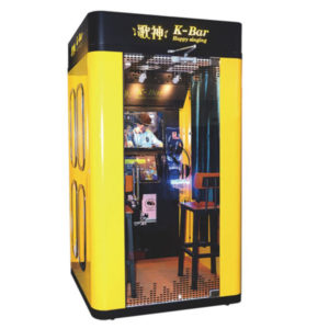 Karaoke KTV booth (Yellow)