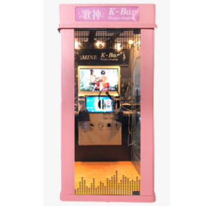 Karaoke mini KTV booth( pink color)